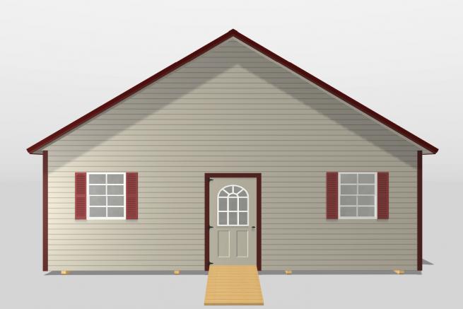 A modular cabin for sale in Kentucky