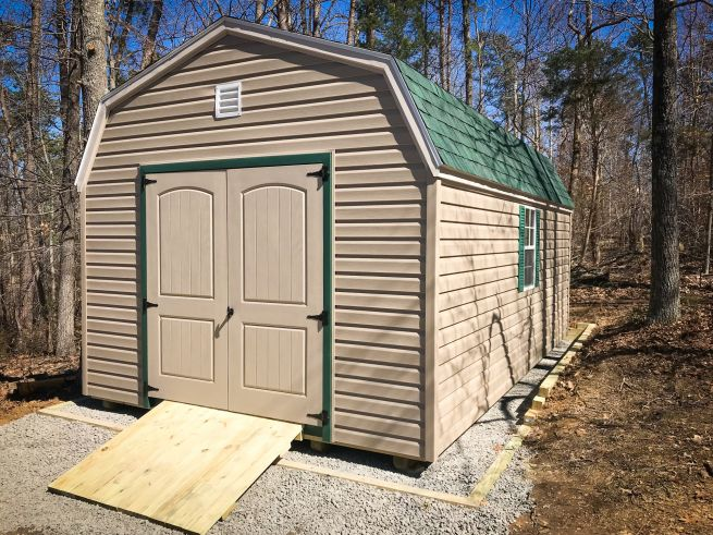 Example of a rent to own shed for sale in KY