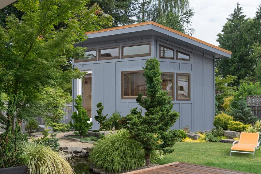 Shed idea for a tiny house