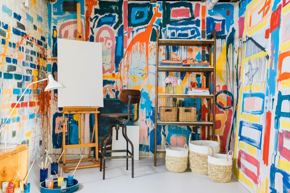 art studio business in a shed