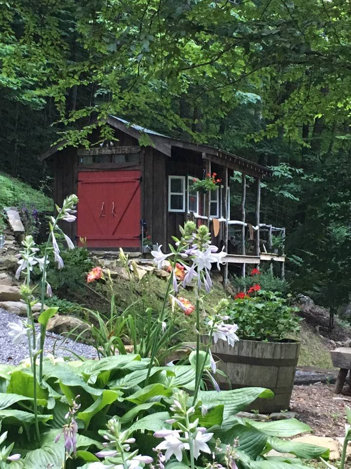 Living in a shed on a mountainside