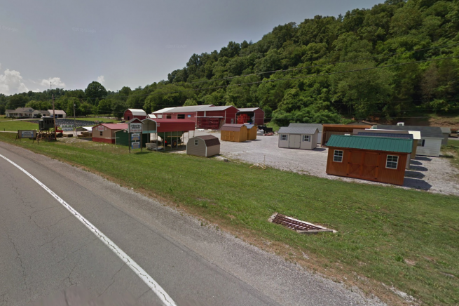 Storage sheds for sale near Albany, KY and Burkesville, KY