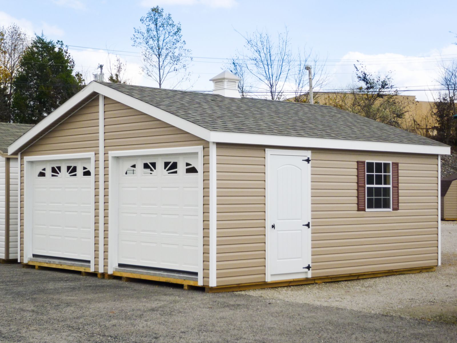 A portable garage shed for sale in Columbia, KY