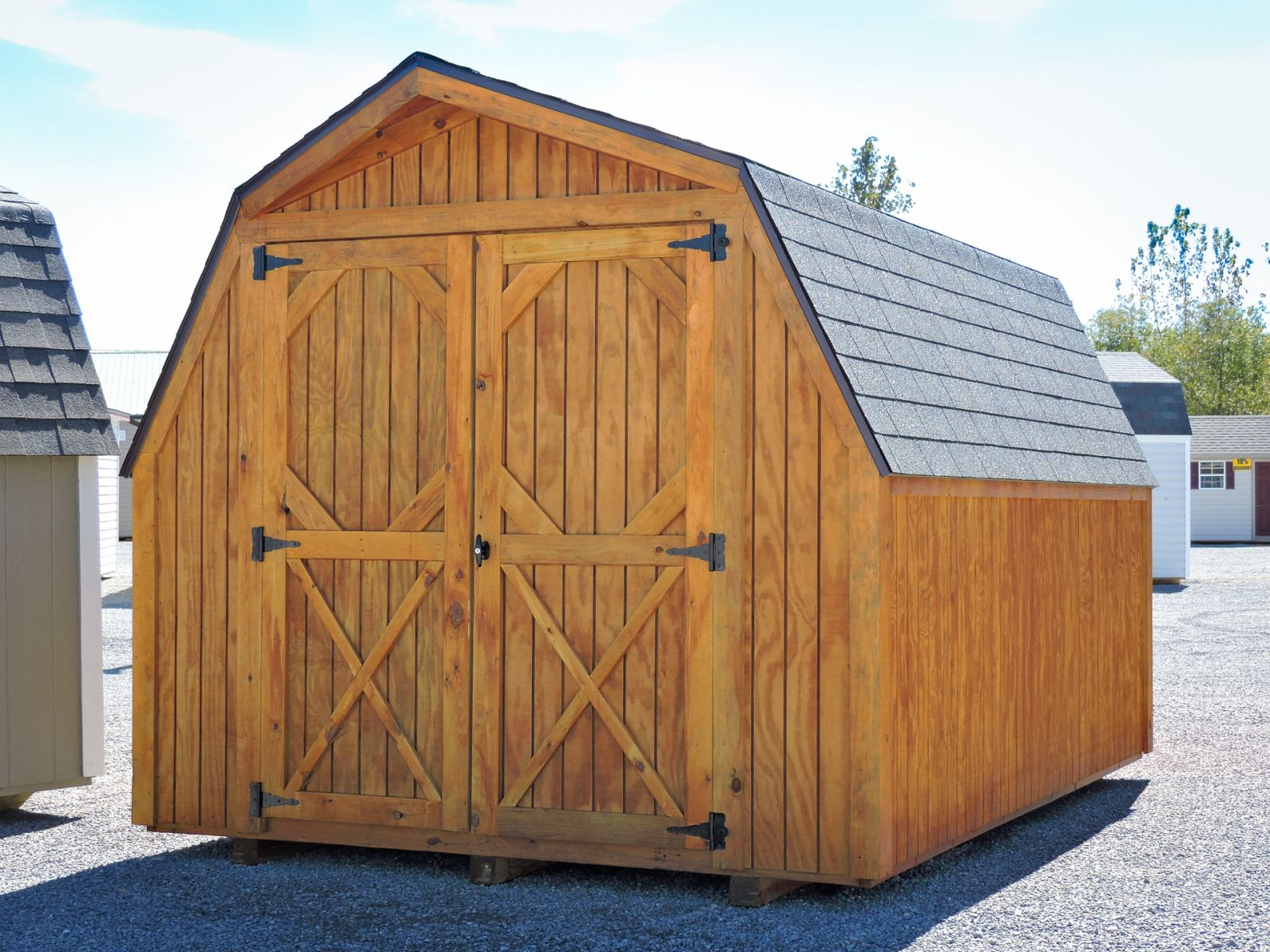 A shed for sale in Greensburg, KY