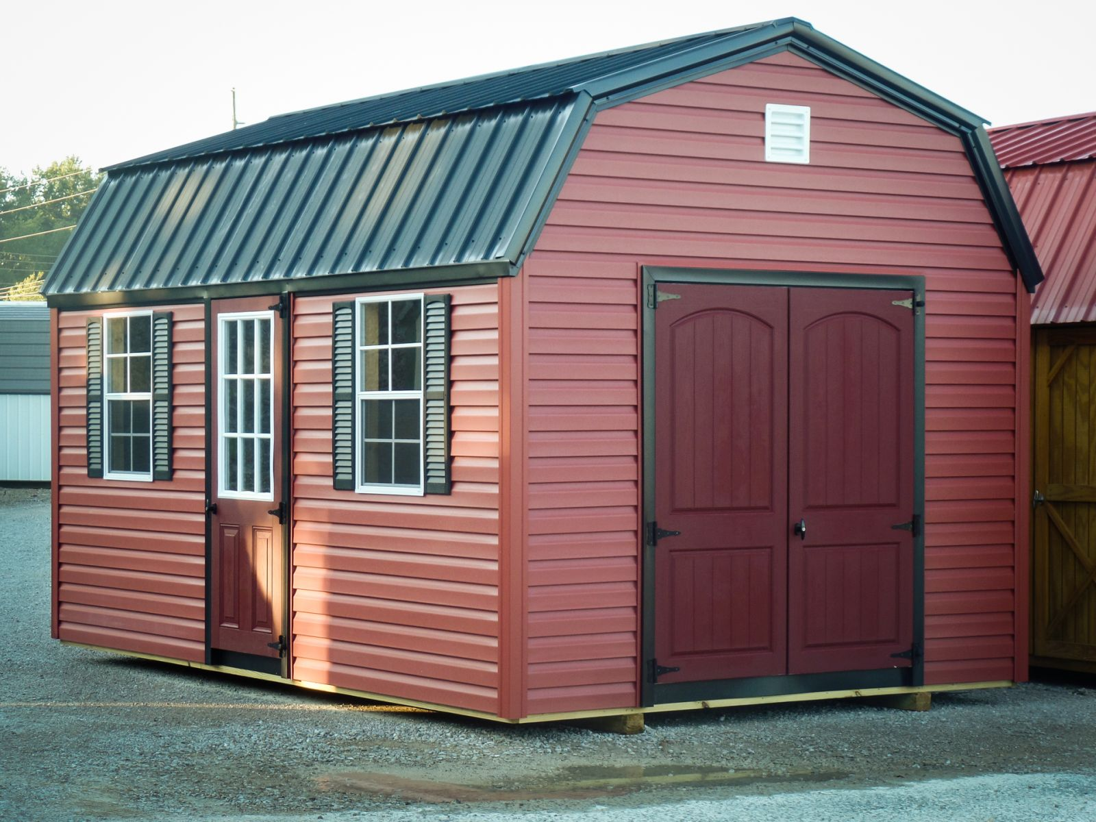 A lofted shed for sale in Louisville, KY