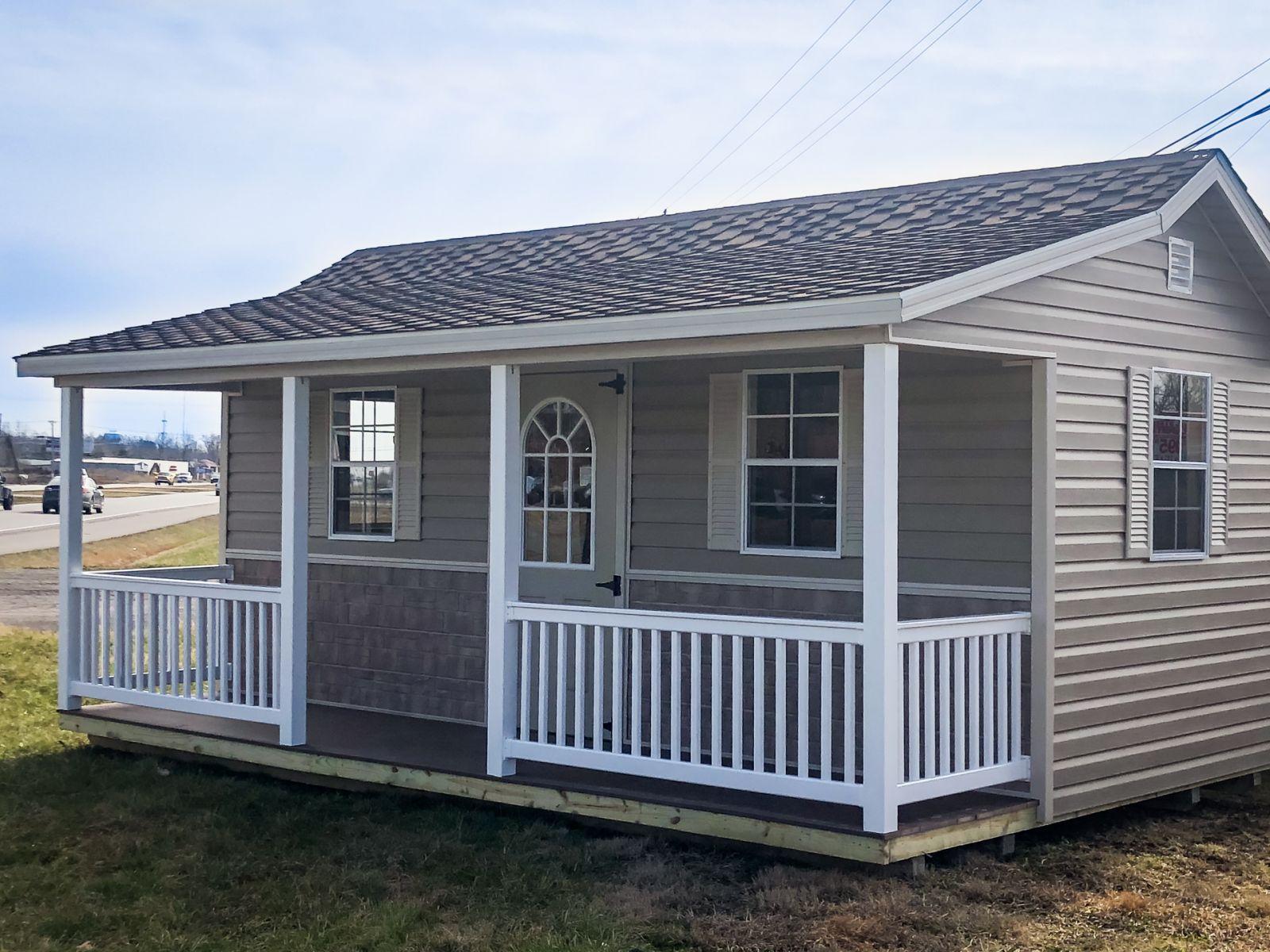 A prefab cabin shed for sale in Louisville, KY