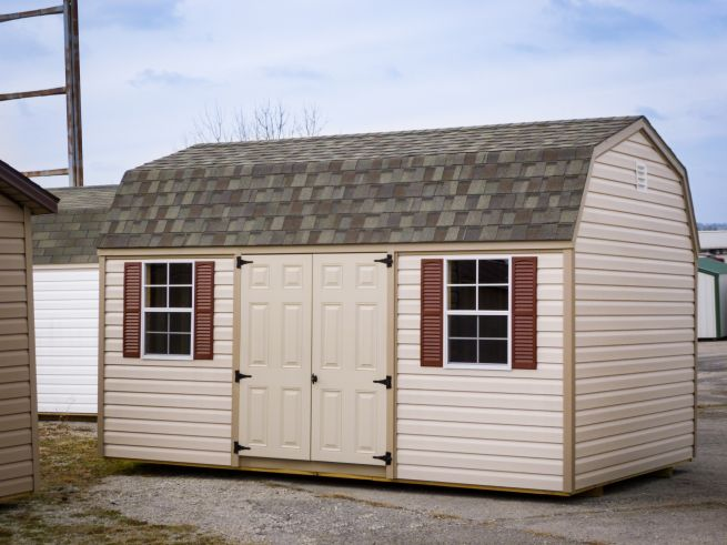 A storage shed for sale in Louisville, KY