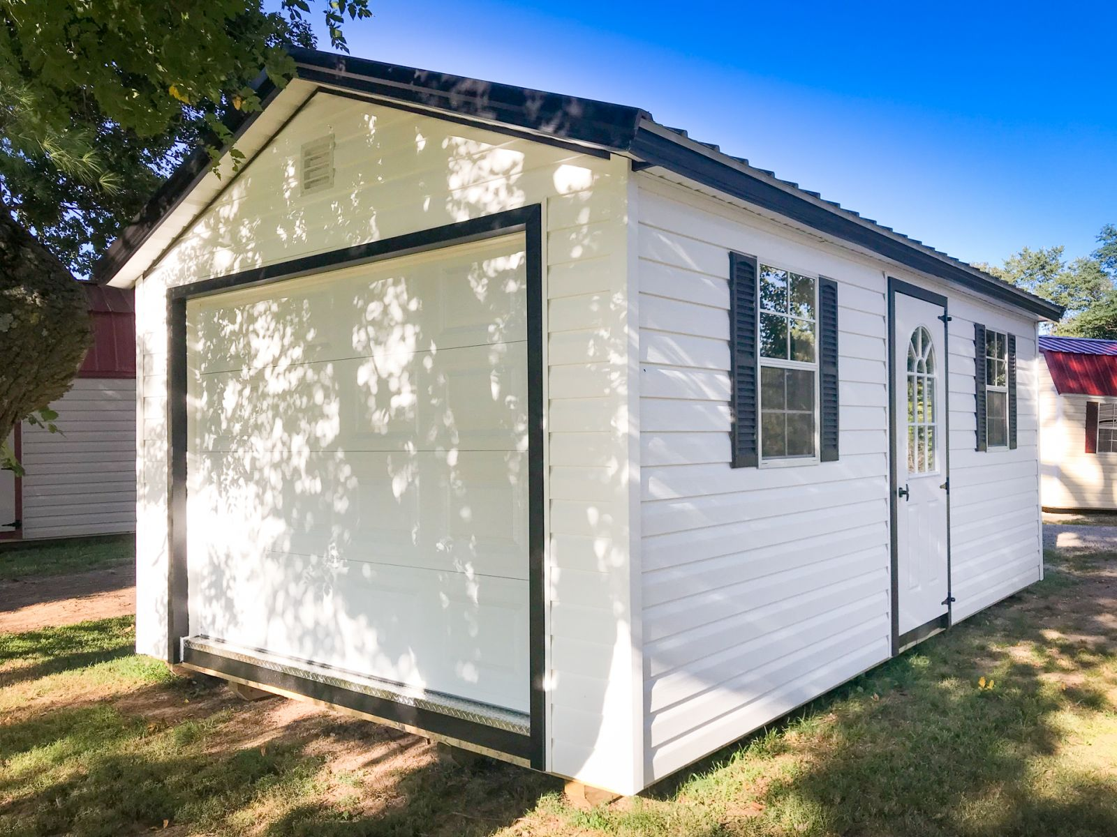 A portable garage shed for sale in Nashville, TN