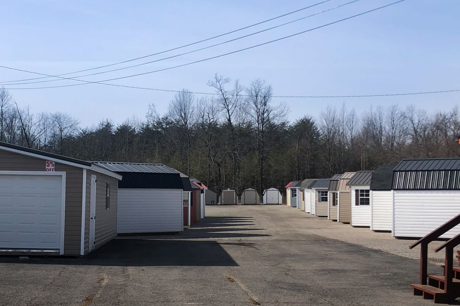 Examples of sheds for sale in Nashville, TN