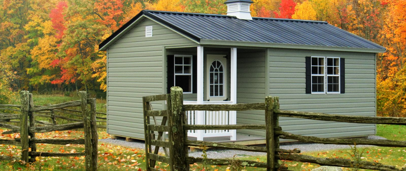 A prefab small cabin for sale in KY and TN