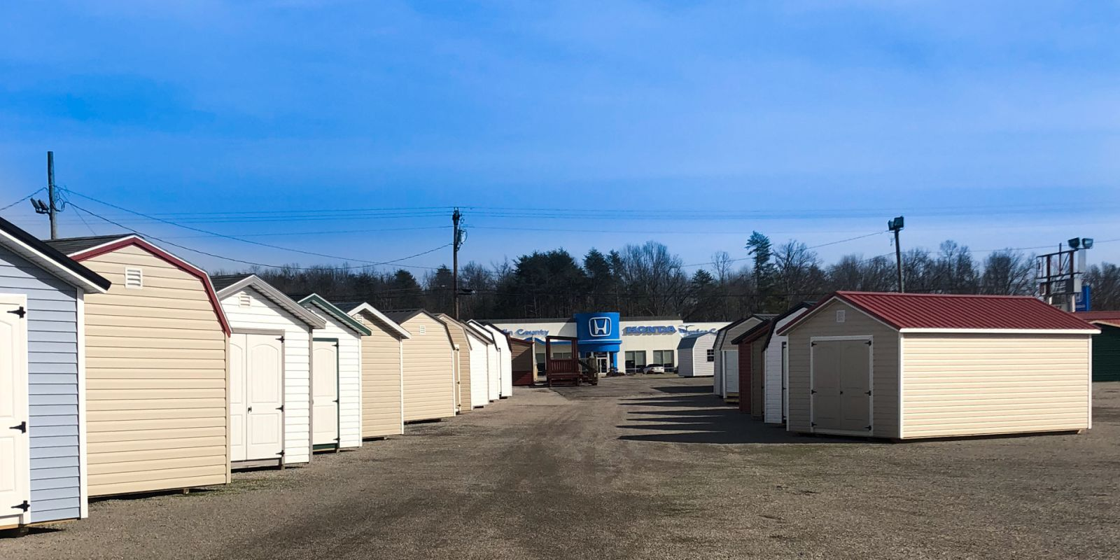 Sheds from shed builders in Kentucky and Tennessee