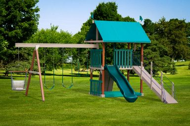 A poly swing set for sale in KY & TN