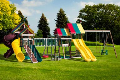 A poly swing set for sale in TN & KY