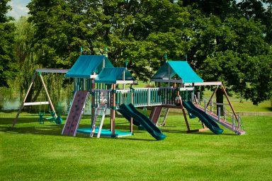 A large swing set in Kentucky