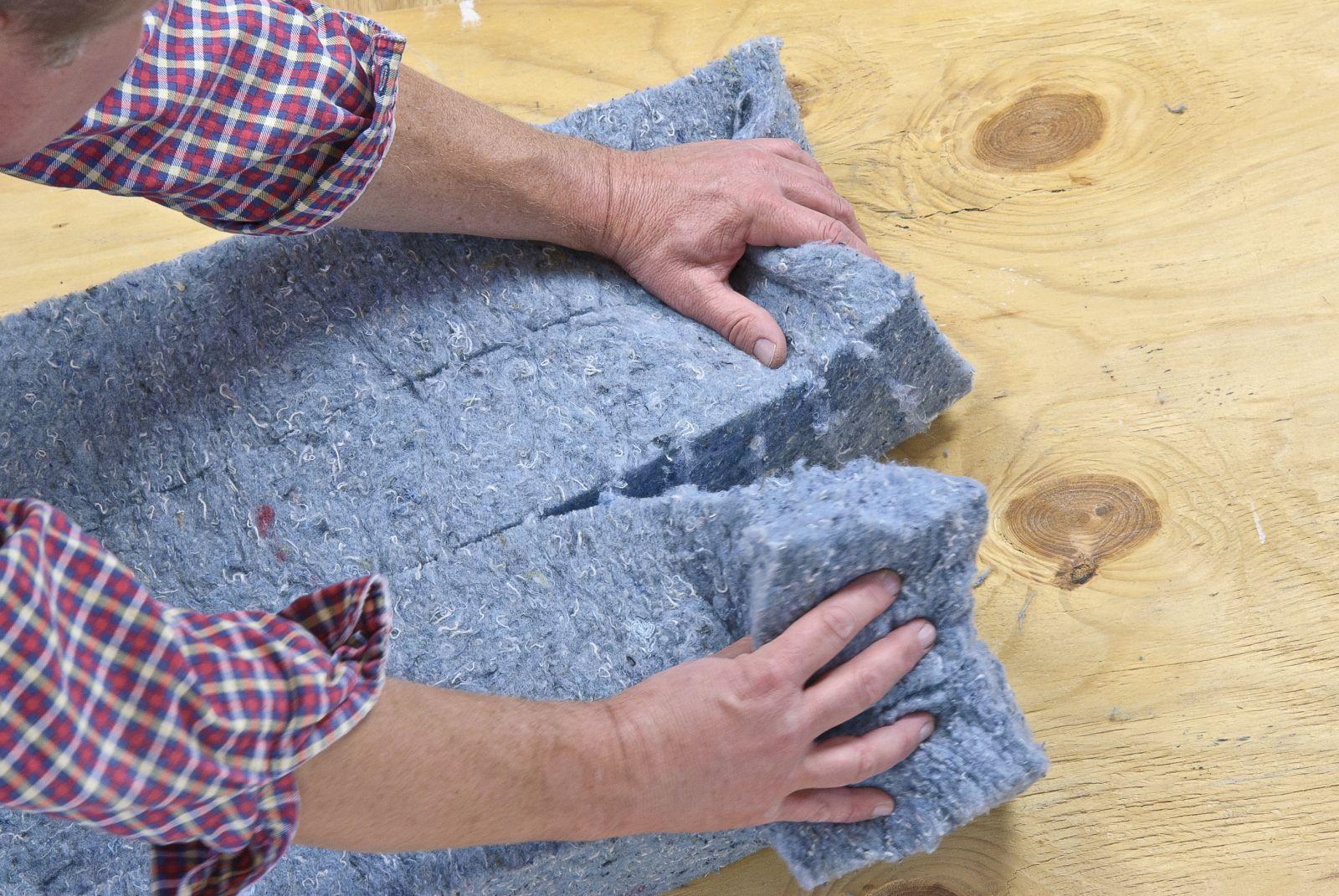 cotton batt insulation for a detached garage