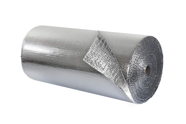 double bubble detached garage insulation