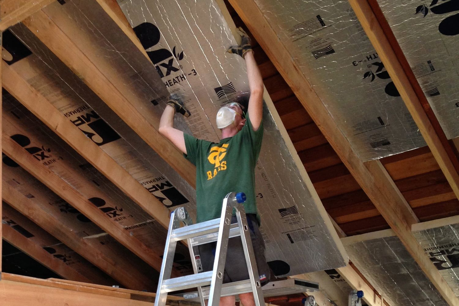 insulating a detached garage with foam board