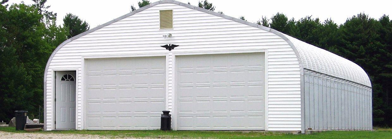 prefab metal detached garage for insulating