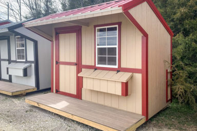 A custom pet shed for sale in Kentucky