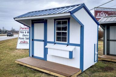 A backyard chicken house for sale in Kentucky