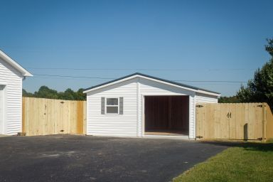 A custom garage constructed by garage builders in Kentucky and Tennessee